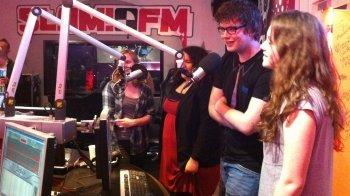 Onze examenbloggers bij Slam!FM